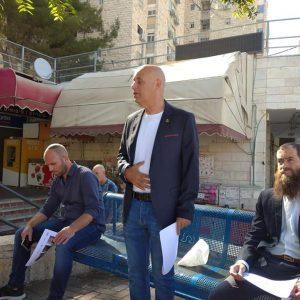 פגישה עם בעלי העסקים מגבעת מרדכי