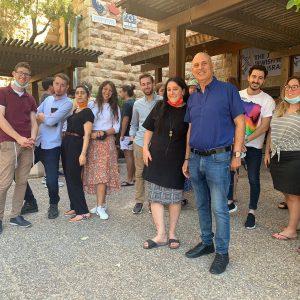 סיור במרכז קליטה ואולפן בית קנדה הנחשב לותיק ביותר בישראל